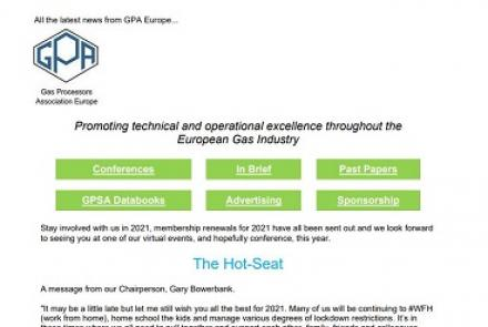 GPA Europe February 2021 Newsletter