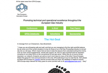 GPA Europe March 2021 Newsletter
