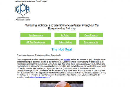 GPA Europe May 2021 Newsletter